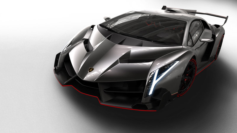 Top speed of lamborghini veneno