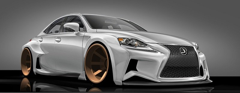 2014 Lexus IS Sport Sedan DeviantART by Rob Evans