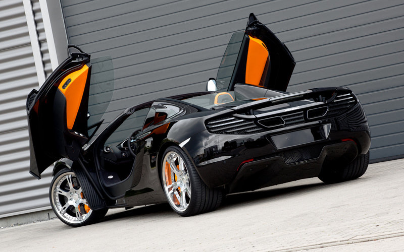 2013 McLaren MP4-12C Spyder British Open by Wheelsandmore Exterior - image 518230