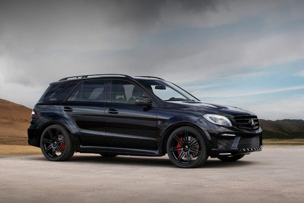2013 mercedes ml63 amg inferno black by topcar car review top speed. Black Bedroom Furniture Sets. Home Design Ideas