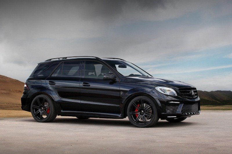 2013 Mercedes ML63 AMG Inferno Black by TopCar High Resolution Exterior - image 517958