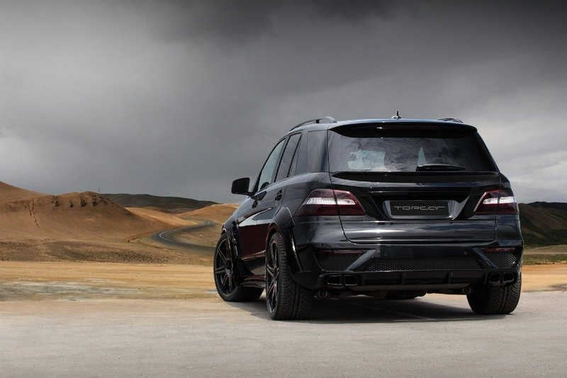 2013 Mercedes ML63 AMG Inferno Black by TopCar High Resolution Exterior - image 517959