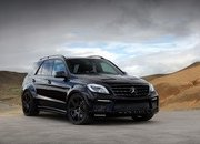 2013 Mercedes ML63 AMG Inferno Black by TopCar - image 517960
