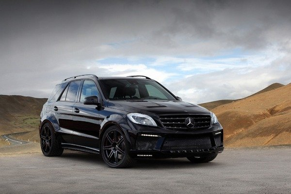 2013 mercedes ml63 amg inferno black by topcar review. Black Bedroom Furniture Sets. Home Design Ideas