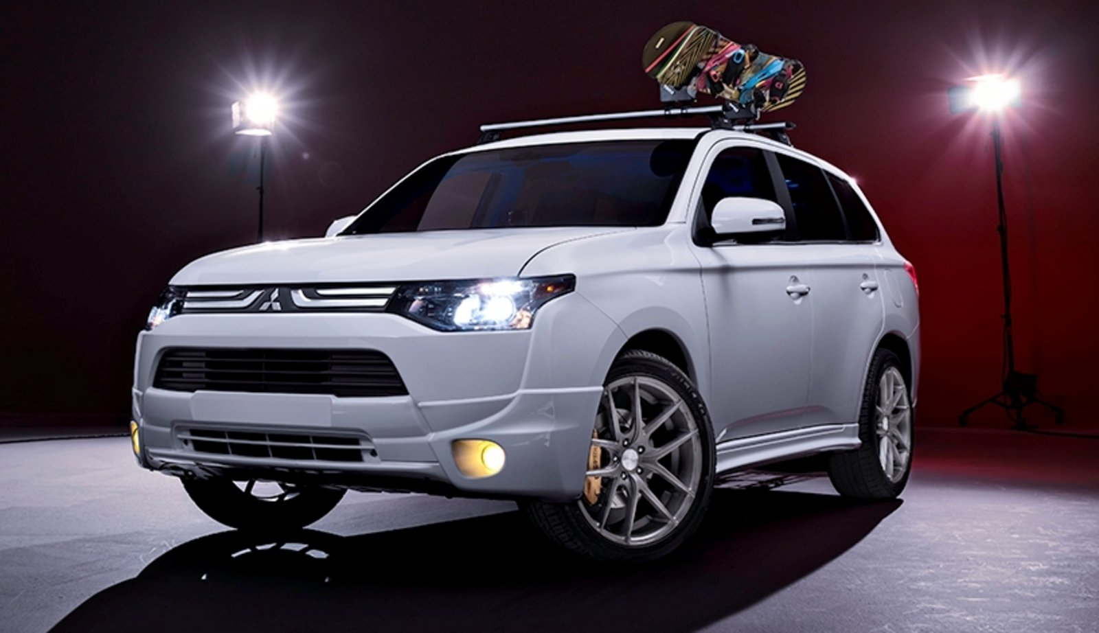 2014 Mitsubishi Outlander H360 Winter Edition Review Top