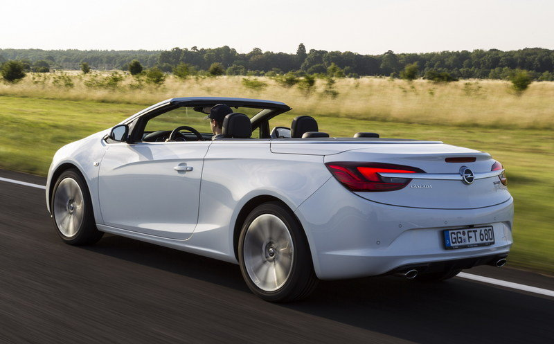 2013 Opel Cascada Turbo