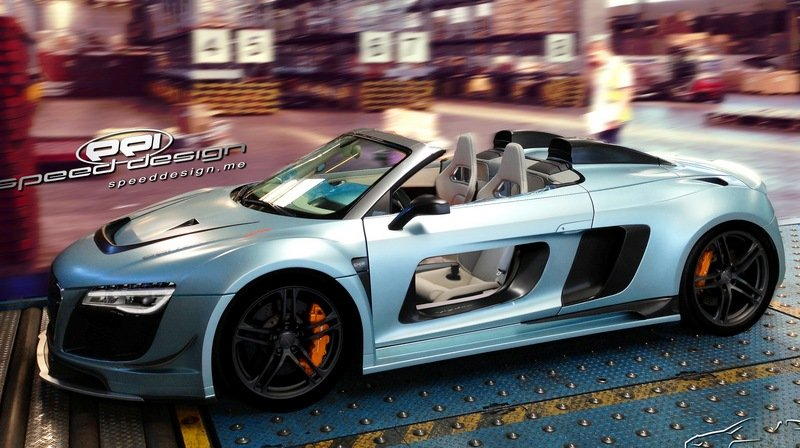 2013 Audi R8 Razor Spyder GTR by PPI Speed Design