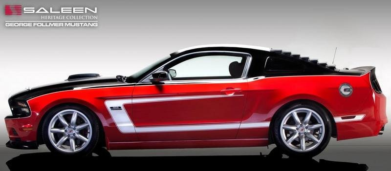 2014 Saleen George Follmer Edition Mustang