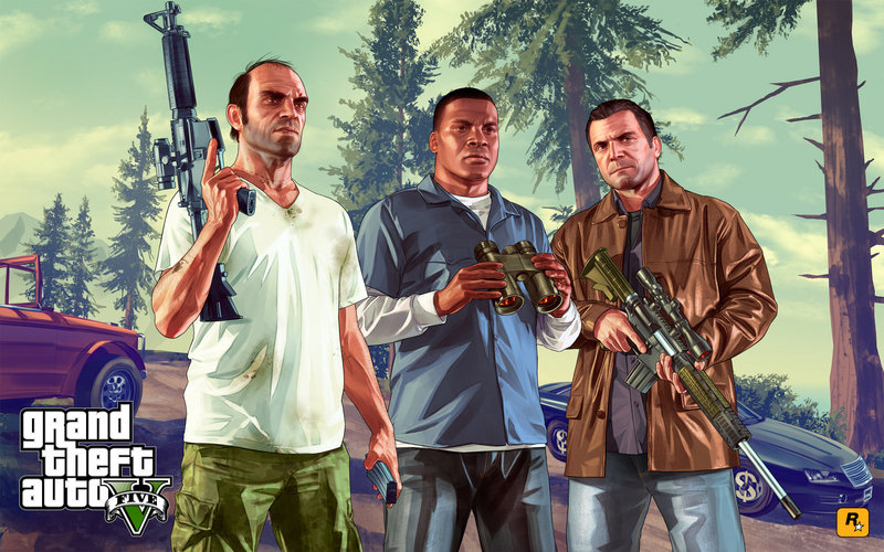 Grand Theft Auto V Tallies $800 Million in its First Day on Shelves
