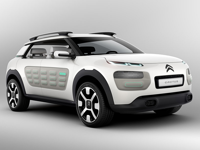 2013 Citroen Cactus Concept High Resolution Exterior Wallpaper quality - image 521444