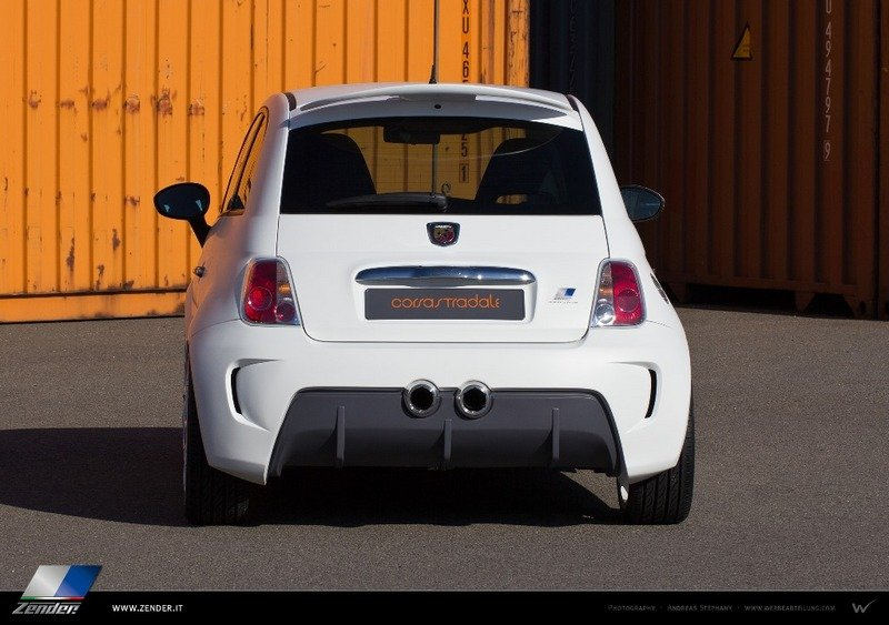 2013 Fiat 500 Abarth Corsa Stradale by Zender Italia High Resolution Exterior - image 524282