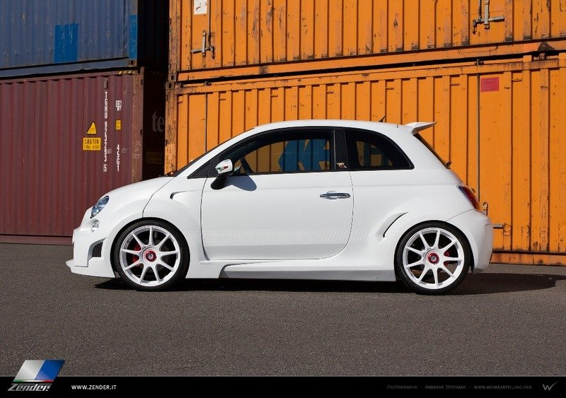 2013 Fiat 500 Abarth Corsa Stradale by Zender Italia High Resolution Exterior - image 524284