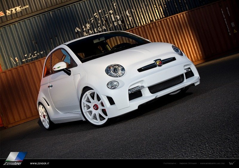 2013 Fiat 500 Abarth Corsa Stradale by Zender Italia High Resolution Exterior - image 524266