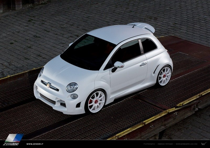 2013 Fiat 500 Abarth Corsa Stradale by Zender Italia High Resolution Exterior - image 524269