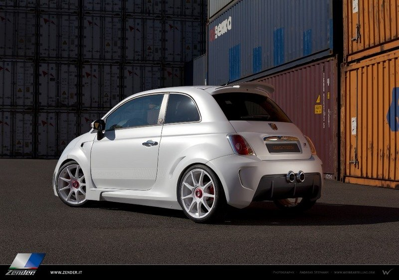 2013 Fiat 500 Abarth Corsa Stradale by Zender Italia High Resolution Exterior - image 524271