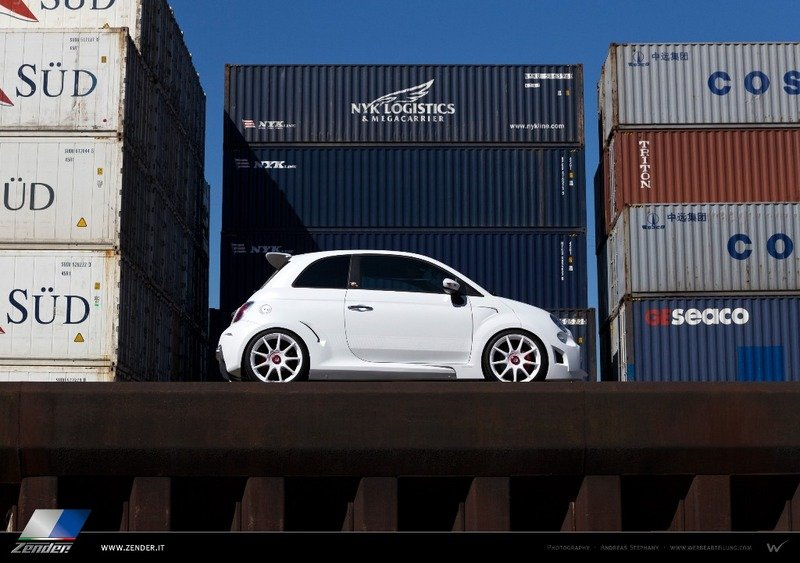 2013 Fiat 500 Abarth Corsa Stradale by Zender Italia High Resolution Exterior - image 524272