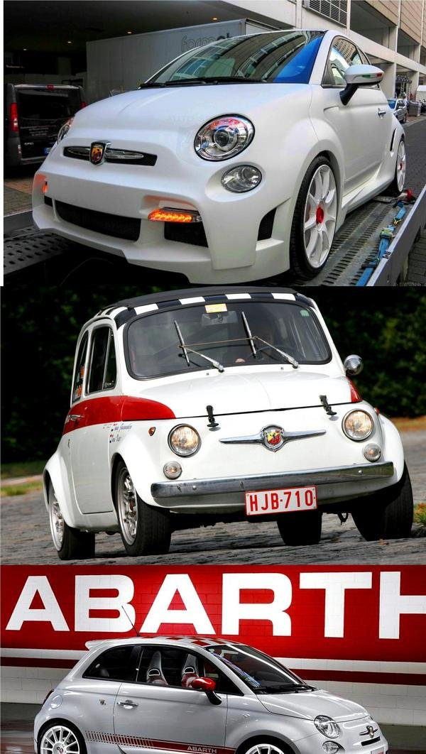 500 Best Tarot Images On Pinterest: 2013 Fiat 500 Abarth Corsa Stradale By Zender Italia