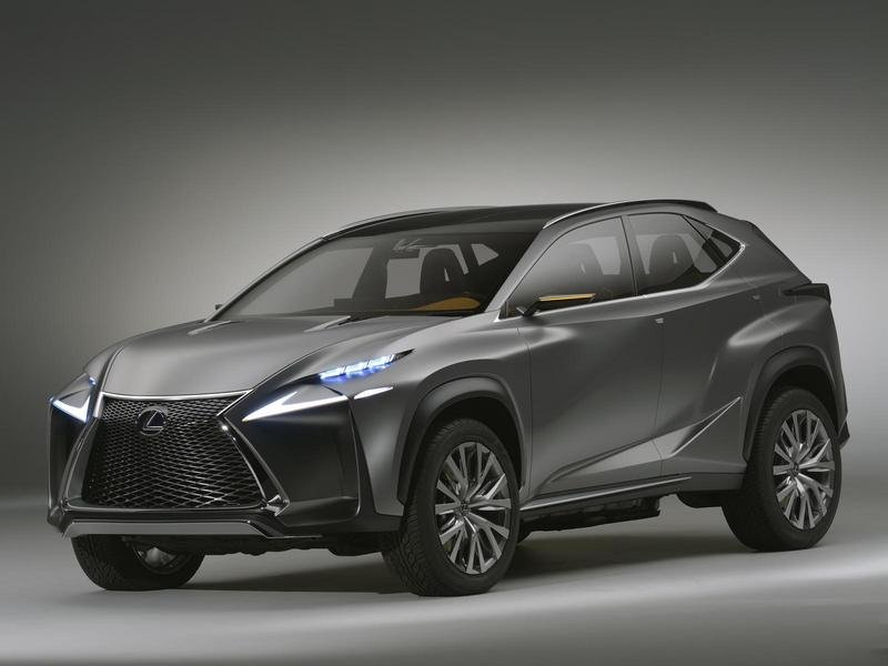 2013 Lexus LF-NX Concept High Resolution Exterior Wallpaper quality - image 521330