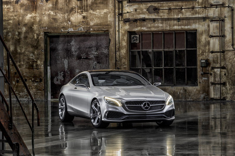 2013 Mercedes-Benz S-Class Coupe Concept High Resolution Exterior - image 522652