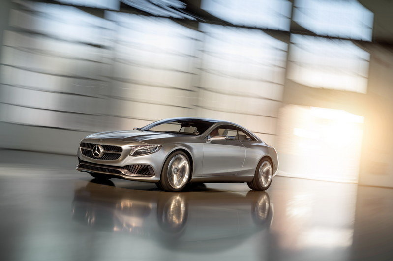 2013 Mercedes-Benz S-Class Coupe Concept High Resolution Exterior Wallpaper quality - image 522655