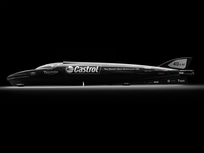 Triumph Castrol Rocket hopes to break the land speed record