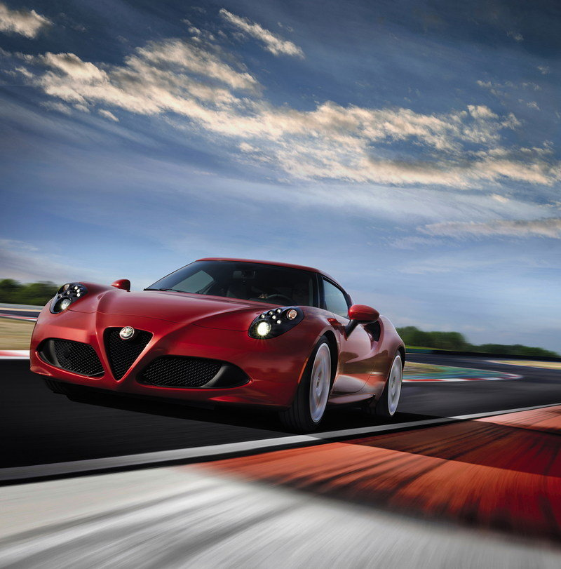 2014 Alfa Romeo 4C High Resolution Exterior - image 523935
