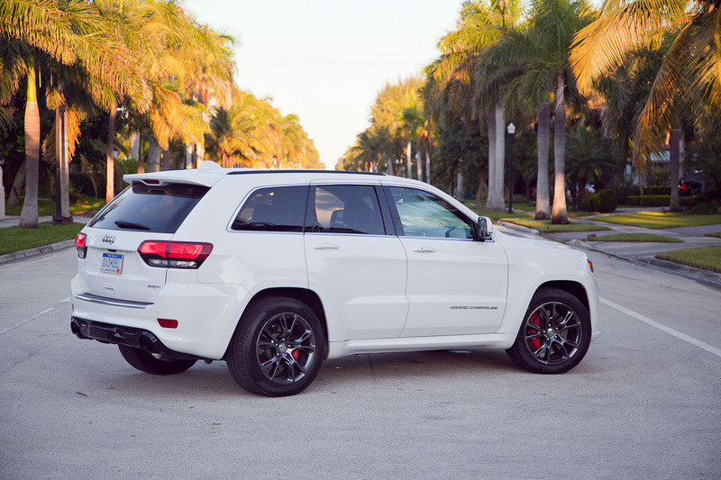 2014 Jeep Grand Cherokee SRT High Resolution Exterior - image 521910