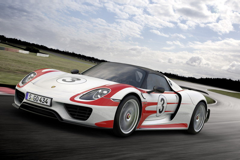 2014 Porsche 918 Spyder High Resolution Exterior - image 522497