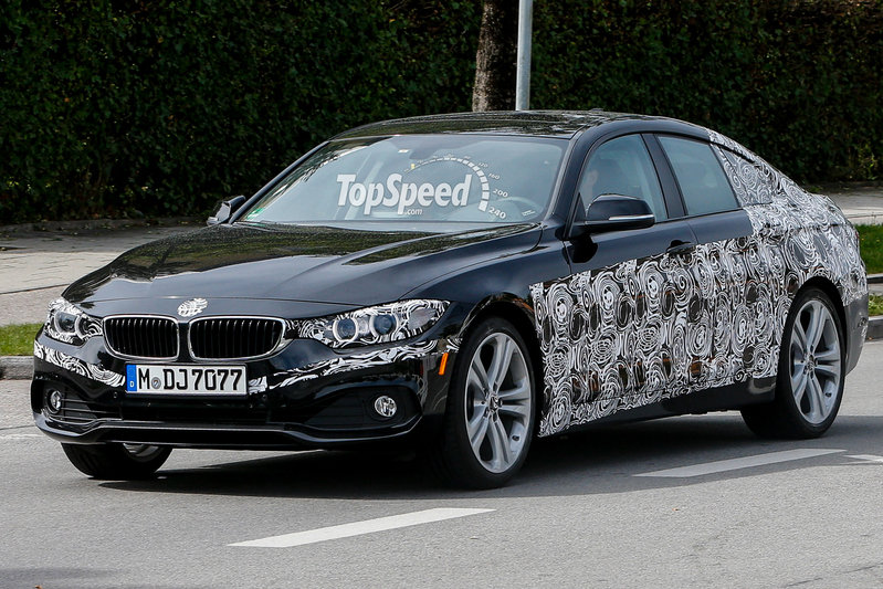 Spy Shots: BMW 4 Series GranCoupe Starts Losing its Camo