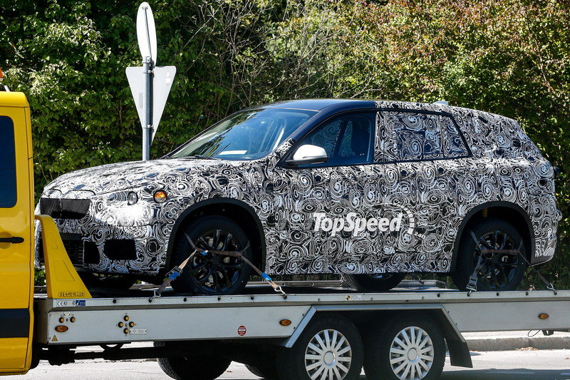 Spy Shots: 2015 BMW X1 Gets the Flatbed Treatment to its Next Testing Session