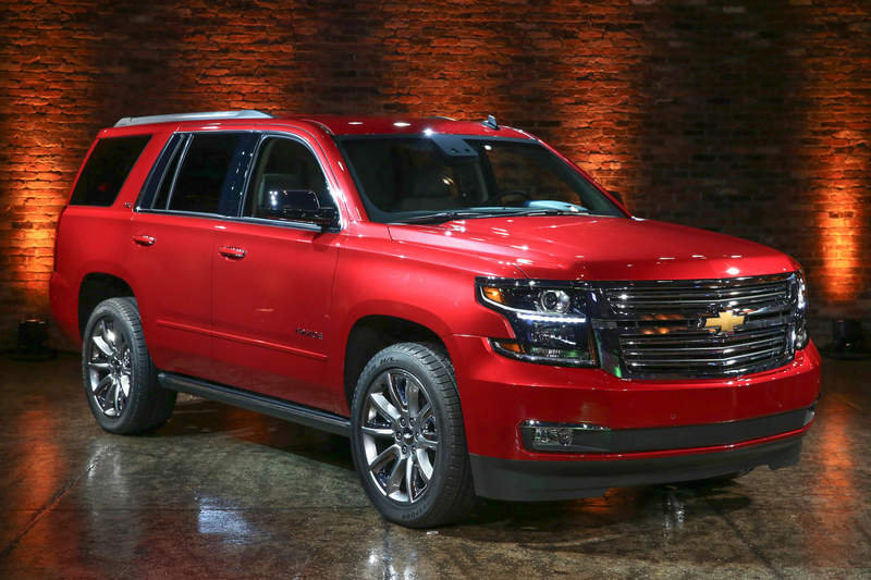 2015 Chevrolet Tahoe High Resolution Exterior - image 523435