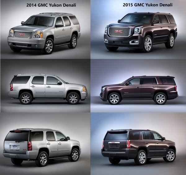 Compare 2014 tahoe to 2015 tahoe autos weblog