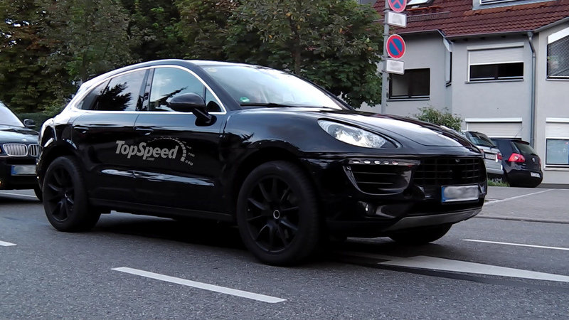 Spy Shots: Porsche Macan Caught Testing in Germany