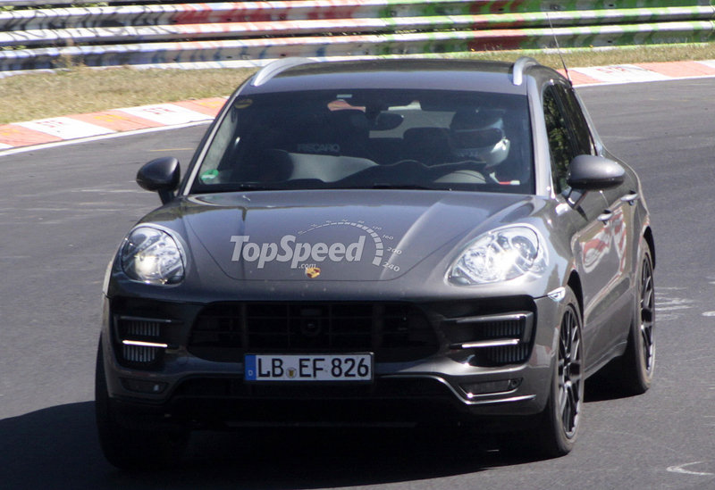 Spy Shots: Porsche Macan Hits Nurburgring and Shows off Some Goodies