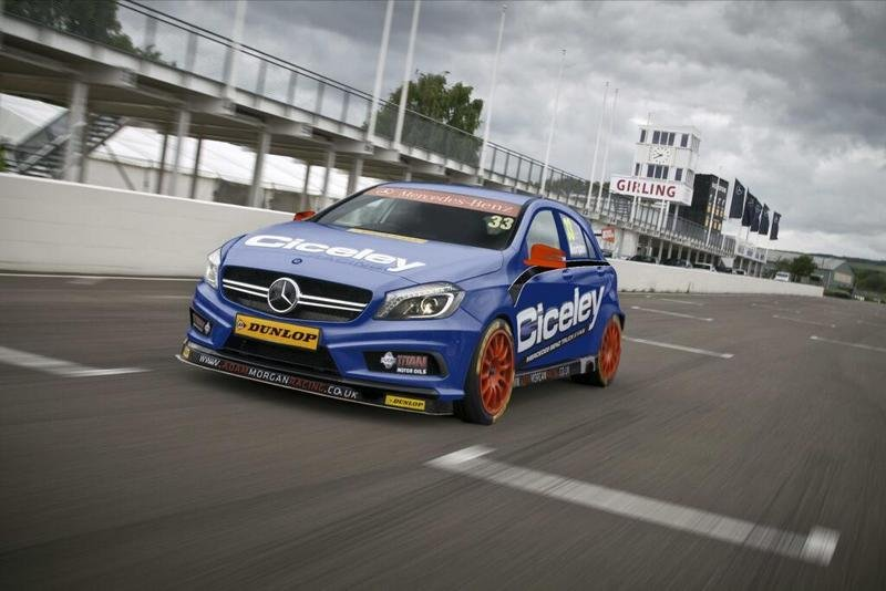 2014 Mercedes-Benz A-Class BTCC Race Car High Resolution Exterior - image 526382