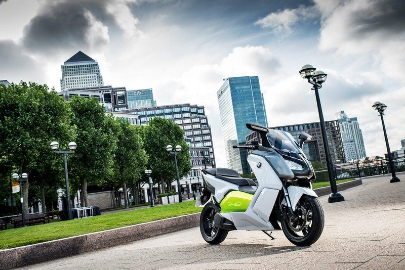 BMW C Evolution Electric Scooter will make its debut at IAA Car Show in Frankfurt