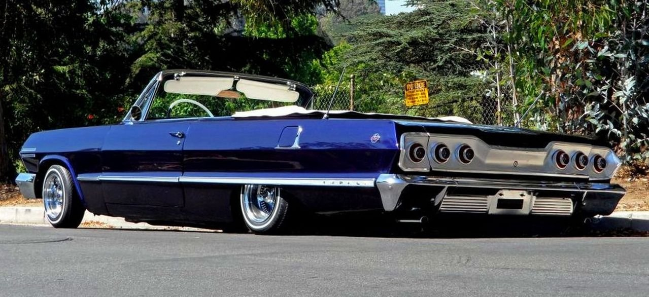 1963 Chevrolet Impala Ss By West Coast Customs For Kobe