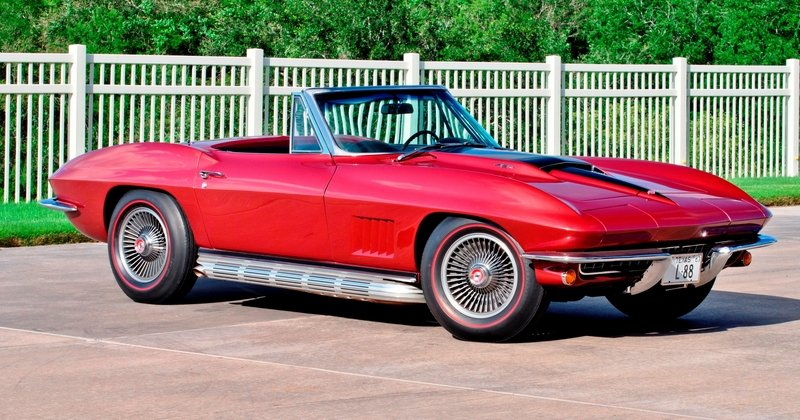 1967 Chevrolet L88 Corvette Sting Ray Convertible