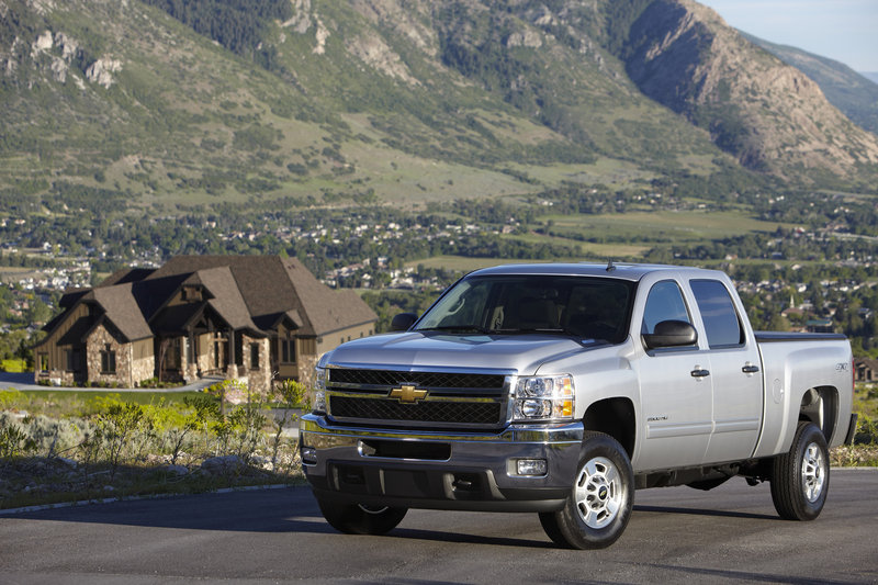2014 Chevrolet Silverado HD High Resolution Exterior - image 524442