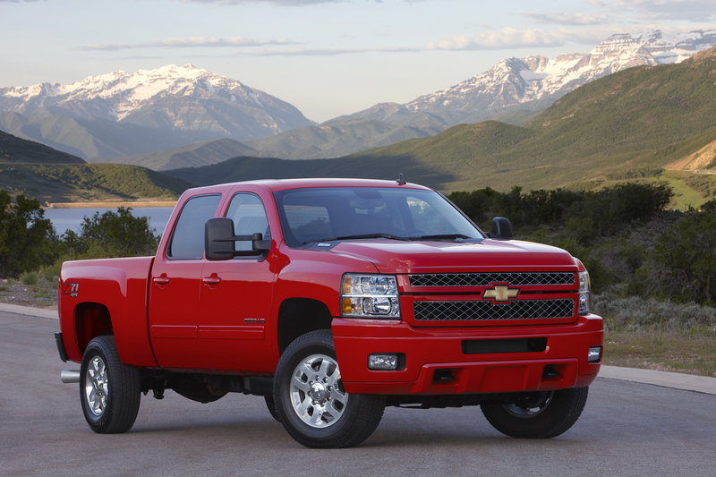 2014 Chevrolet Silverado HD High Resolution Exterior - image 524445