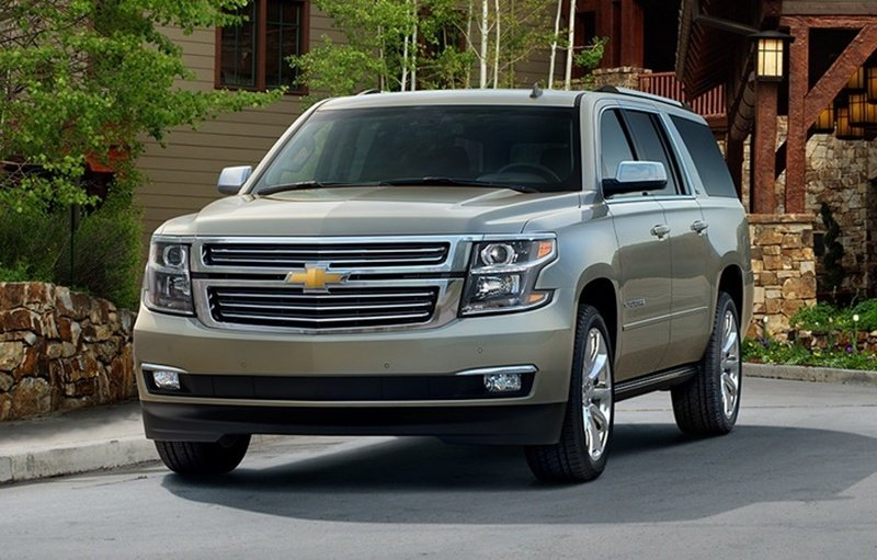 2015 Chevrolet Suburban High Resolution Exterior - image 525900