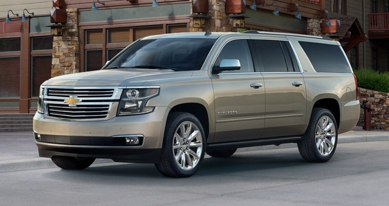 2015 Chevrolet Suburban High Resolution Exterior - image 525901