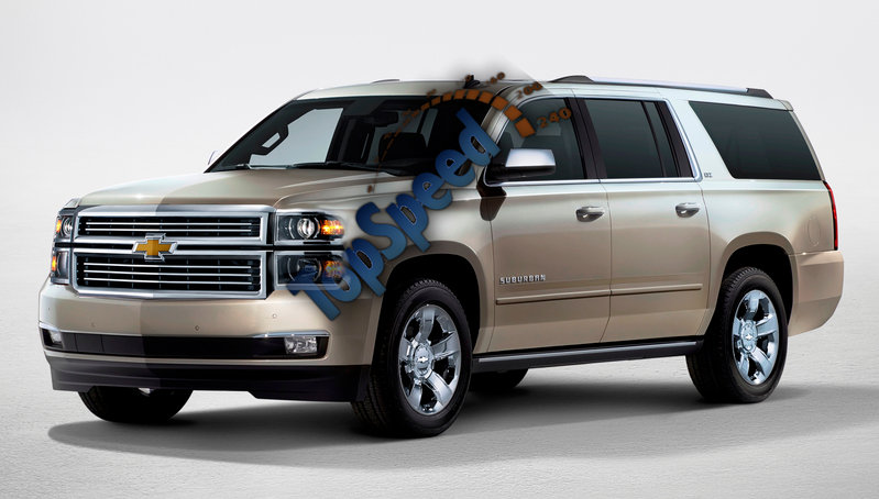 2015 Chevrolet Suburban High Resolution Exterior - image 526053