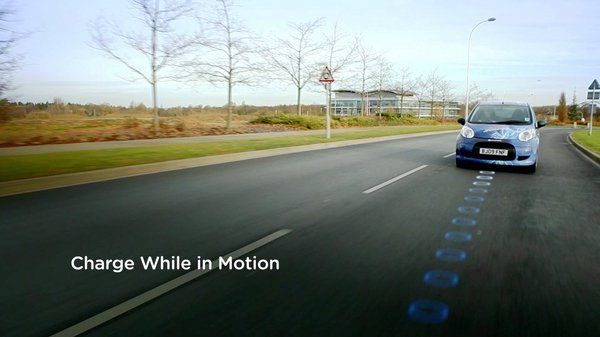 The Future of Electric Vehicles: Induction Battery Charging While Cruising