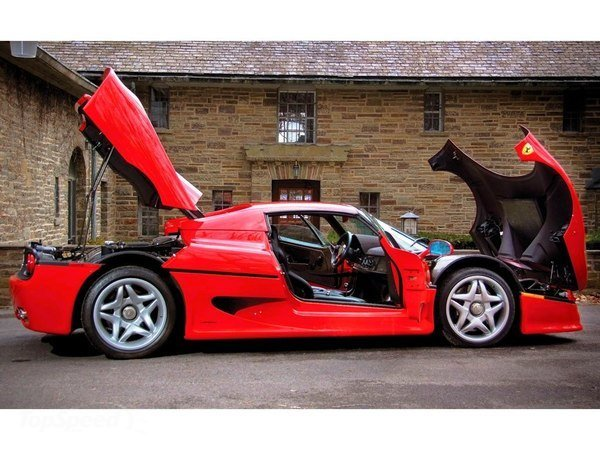 1995 1997 Ferrari F50 Car Review Top Speed