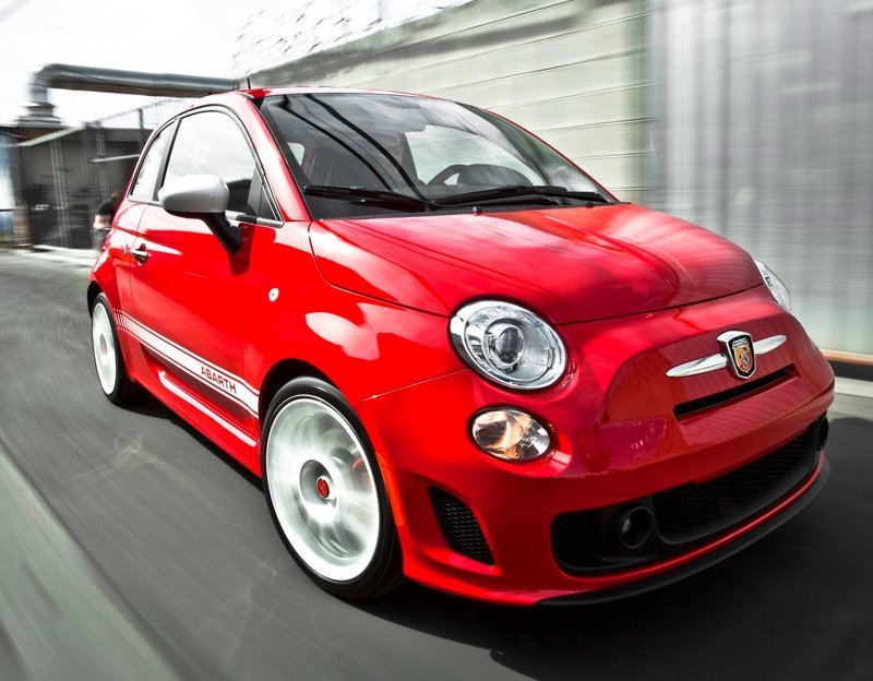 2014 Fiat 500 Abarth High Resolution Exterior - image 522126