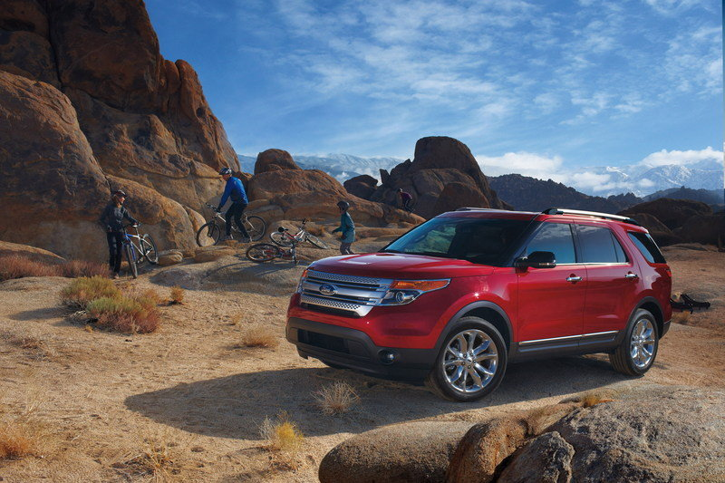 2014 - 2015 Ford Explorer High Resolution Exterior Wallpaper quality - image 524507