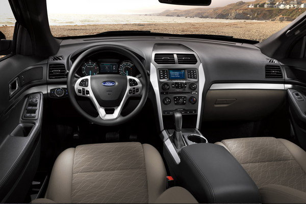 2014 - 2015 Ford Explorer   car review @ Top Speed