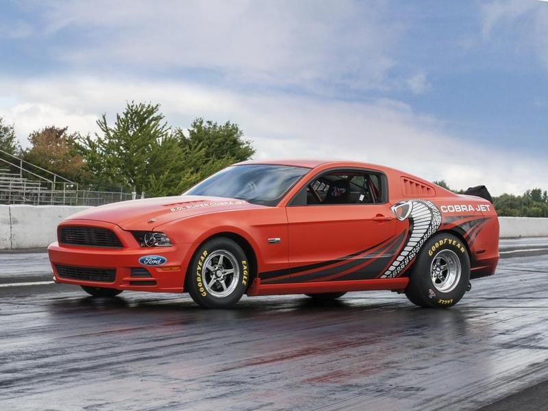 2014 Ford Mustang Cobra Jet NHRA Prototype High Resolution Exterior - image 523544