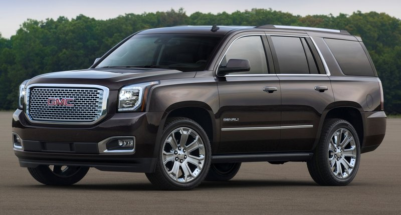 2015 GMC Yukon Denali High Resolution Exterior - image 523439